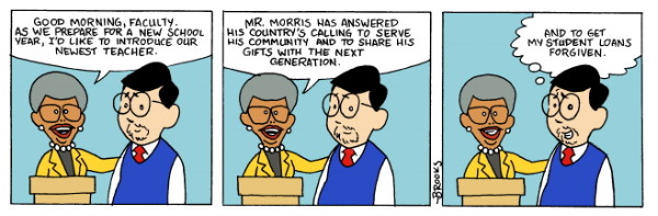 Welcome Aboard Mr. Morris